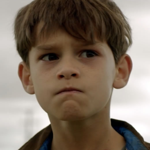 Jack Fisher as Young Travis Austin